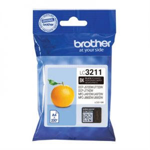 Brother Cartucho LC3211BK Negro Blister