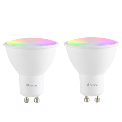 NGS Pack 2 BOMBILLAS WIFI LED 510C DUO